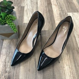 Mix No.6 Black Patent Dignity Pump